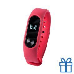 Smart watch 0,42 inch OLED rood bedrukken
