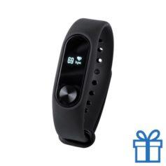 Smart watch 0,42 inch OLED zwart bedrukken