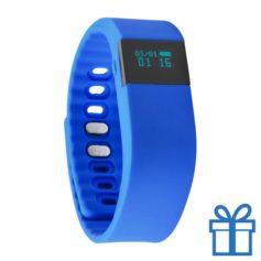 Smart watch 0,61 inch blauw bedrukken