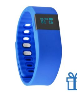 Smart watch 0,61 inch blauw bedrukken