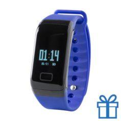 Smart watch 0,66 inch OLED blauw bedrukken