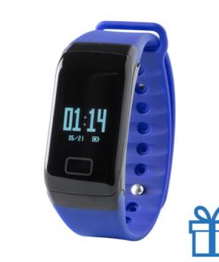 Smart watch 0,66 inch OLED blauw bedrukken