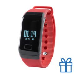 Smart watch 0,66 inch OLED rood bedrukken