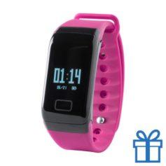 Smart watch 0,66 inch OLED roze