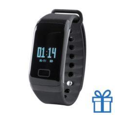 Smart watch 0,66 inch OLED zwart bedrukken