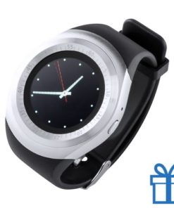 Smart watch 1,22 inch zwart