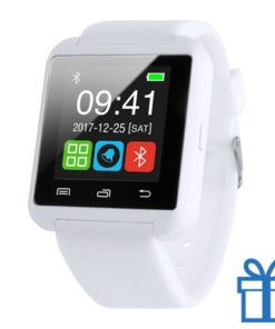 Smart watch meertalig 1,44 inch wit bedrukken