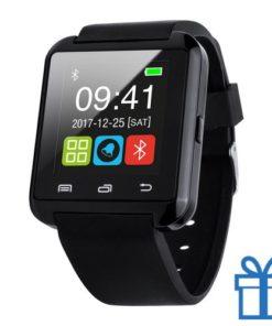 Smart watch meertalig 1,44 inch zwart bedrukken