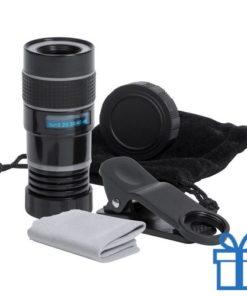 Smartphone lens clip bedrukken