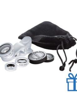 Smartphone lens kit zilver bedrukken
