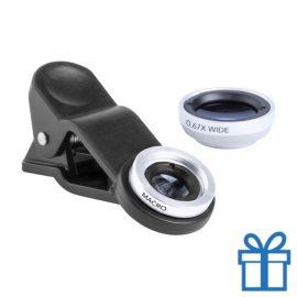 Smartphone lens set van 2 wit bedrukken