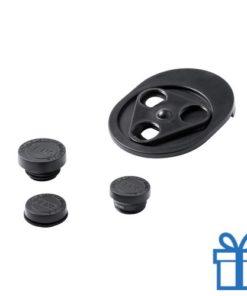 Smartphone lens verstelbaar zwart bedrukken