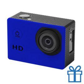 Sport camera 720p HD blauw bedrukken