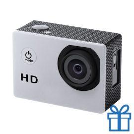 Sport camera 720p HD zilver bedrukken