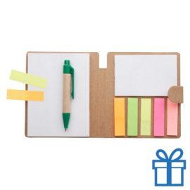 Sticky notepad goedkoop bedrukken