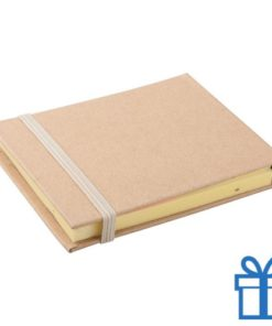 Sticky notes 3 maten naturel bedrukken