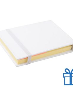 Sticky notes 3 maten wit bedrukken