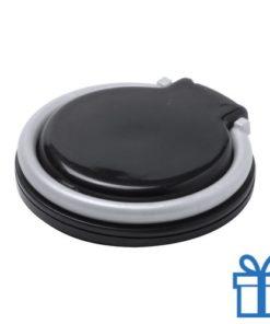 Telefoonhouder plastic rond zwart bedrukken