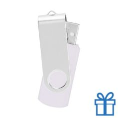 USB Stick metaal wit bedrukken