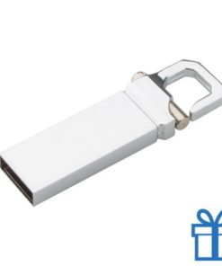 USB flash drive karabijnhaak 8GB bedrukken