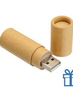 USB flash drive karton 8GB bedrukken