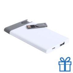 USB flits power bank 2500 mAh  bedrukken