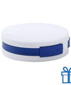 USB hub 4 ingangen 2.0 blauw bedrukken