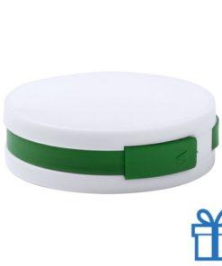 USB hub 4 ingangen 2.0 groen bedrukken