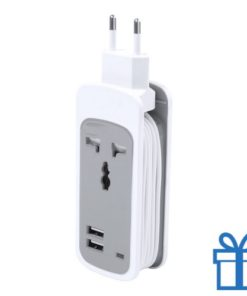 USB netstroomlader 2 poorten bedrukken