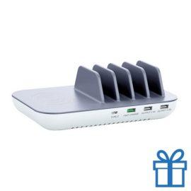 USB oplaadstation houder bedrukken