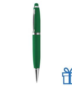 USB pen luxe groen bedrukken