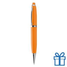 USB pen luxe oranje bedrukken