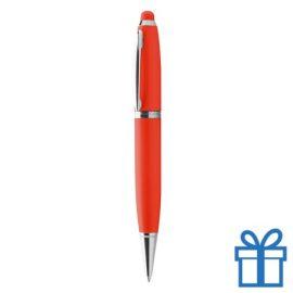 USB pen luxe rood bedrukken
