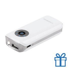 USB power bank 1 led 4000 mAh bedrukken