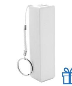 USB power bank 1200 mAh wit bedrukken