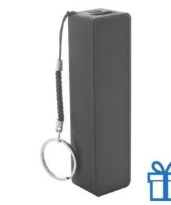 USB power bank 1200 mAh zwart bedrukken