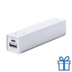 USB power bank houder 2200 mAh  bedrukken