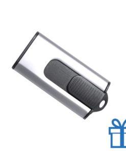 USB stick aluminium modern 8GB zilver bedrukken