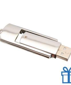 USB stick flash drive metaal 8GB bedrukken