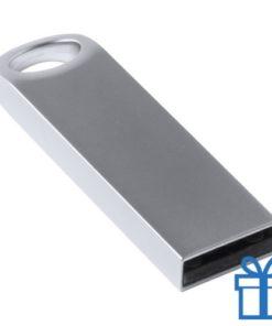 USB stick metaal 16GB grijs bedrukken