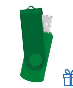 USB stick simpel 8GB groen bedrukken