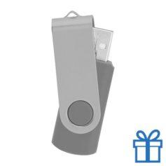 USB stick simpel 8GB zilver bedrukken