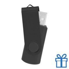 USB stick simpel 8GB zwart bedrukken