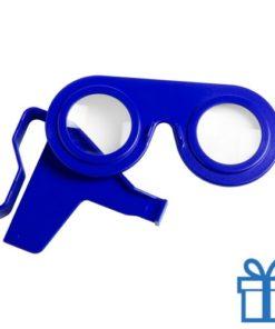 Virtual reality bril goedkoop blauw bedrukken