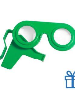 Virtual reality bril goedkoop groen bedrukken