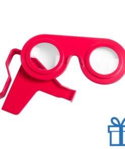 Virtual reality bril goedkoop rood bedrukken