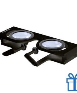 Virtual reality bril verstelbaar zwart bedrukken