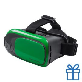 Virtual reality headset verstelbaar groen bedrukken