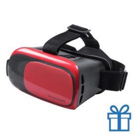 Virtual reality headset verstelbaar rood bedrukken