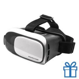 Virtual reality headset verstelbaar wit bedrukken